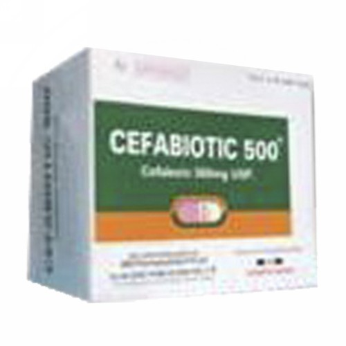 CEFABIOTIC 500 MG KAPSUL STRIP