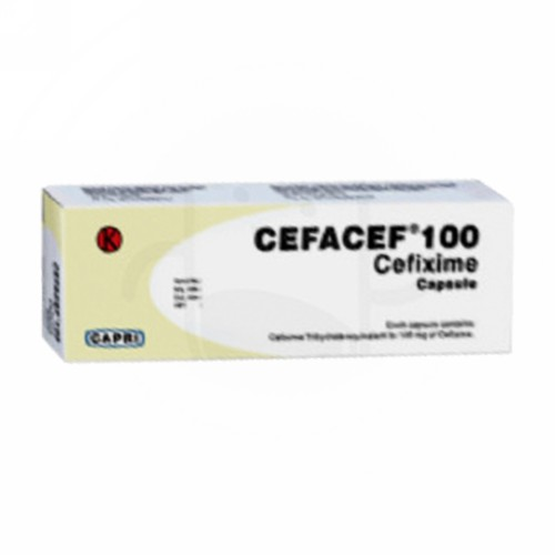 CEFACEF 100 MG KAPSUL BOX