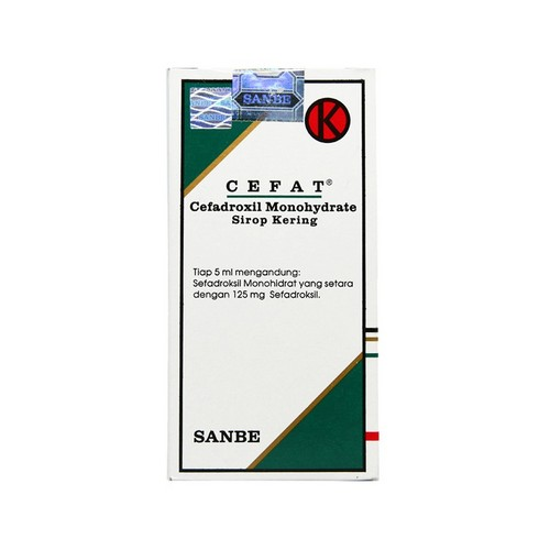CEFAT 125 MG 60 ML SIRUP