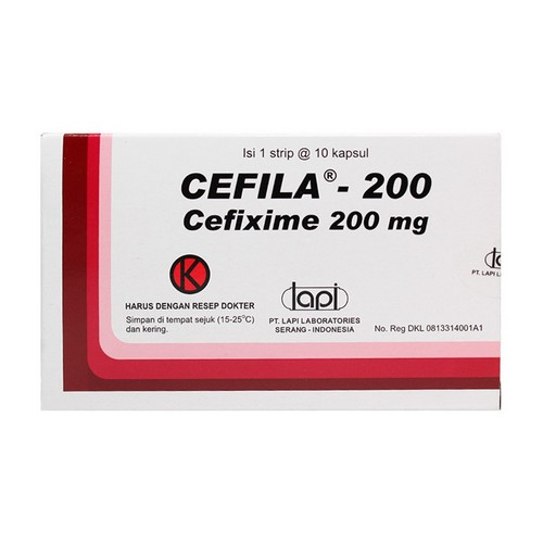 CEFILA 200 MG KAPSUL BOX