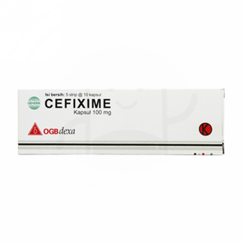 CEFIXIME MEDIKON 100 MG KAPSUL STRIP