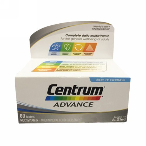 CENTRUM ADVANCE FC BOX 60 TABLET
