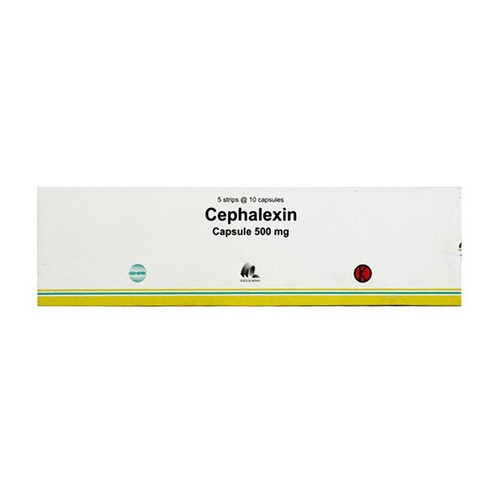 CEPHALEXIN INDO FARMA 500 MG KAPSUL STRIP
