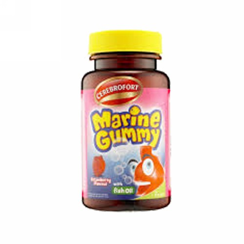CEREBROFORT MARINE GUMMY STRAWBERRY BOTOL 30 TABLET