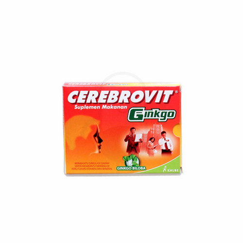 CEREBROVIT GINKGO STRIP 10 KAPSUL
