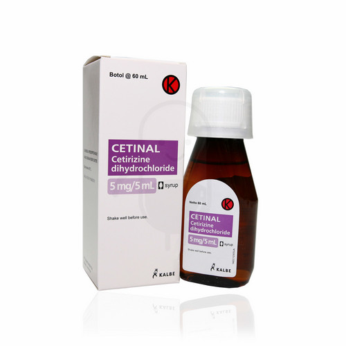 CETINAL 60 ML SIRUP