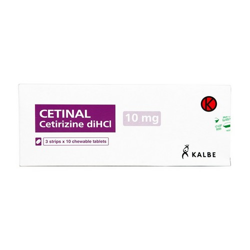 CETINAL 10 MG BOX 30 TABLET