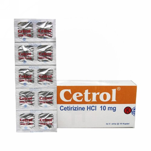 CETROL 10 MG KAPLET STRIP