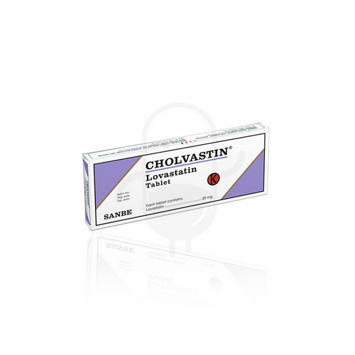 CHOLVASTIN 20 MG BOX 30 TABLET