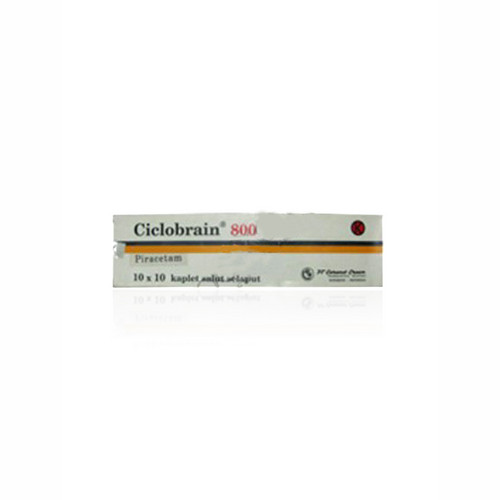 CICLOBRAIN 800 MG KAPLET STRIP