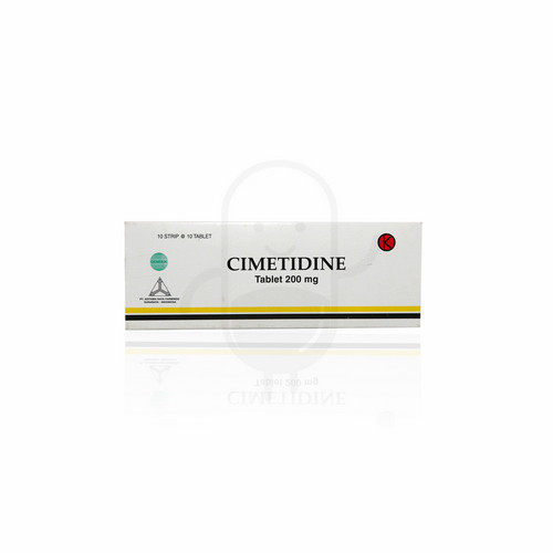 CIMETIDINE ADITAMA RAYA FARMINDO 200 MG TABLET STRIP