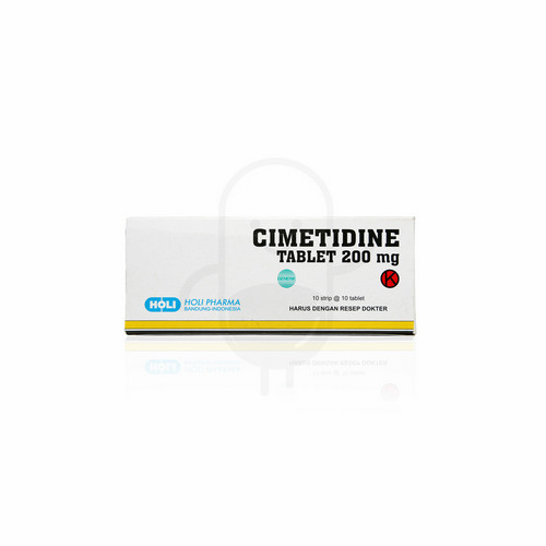 CIMETIDINE HOLI PHARMA 200 MG BOX 100 TABLET
