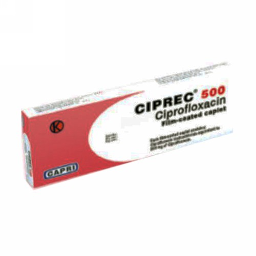 CIPREC 500 MG KAPLET STRIP