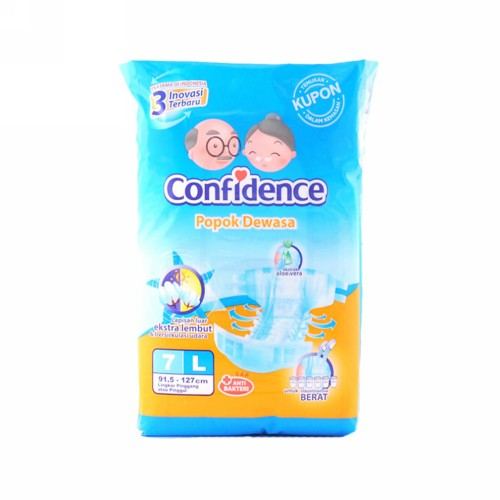 CONFIDENCE ADULT DIAPERS CLASSIC UKURAN L 7