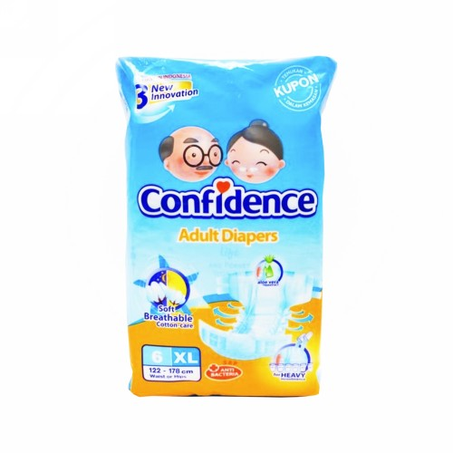CONFIDENCE ADULT DIAPERS PREMIUM UKURAN XL 6