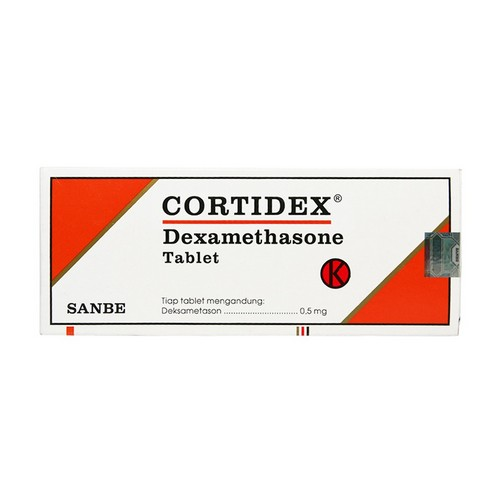CORTIDEX 0.5 MG BOX 100 TABLET