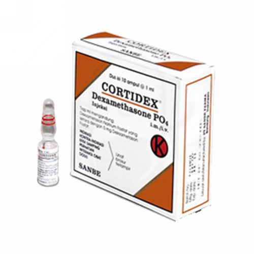 CORTIDEX INJEKSI 1 ML BOX 10 AMPUL