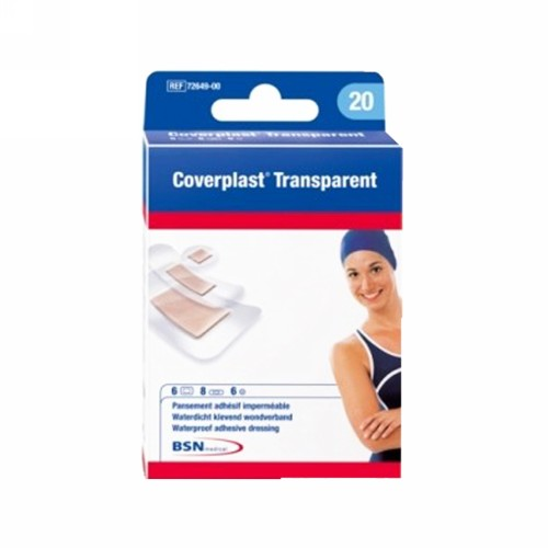 COVERPLAST TRANSPARENT 19 X 40 MM