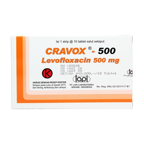CRAVOX 500 TABLET