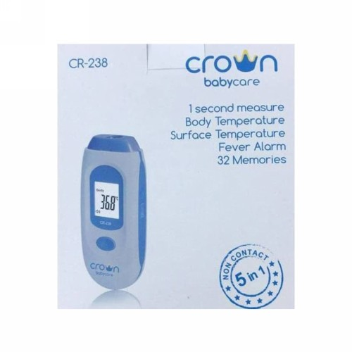 CROWN EAR AND FOREHEAD DIGITAL THERMOMETER CR-238