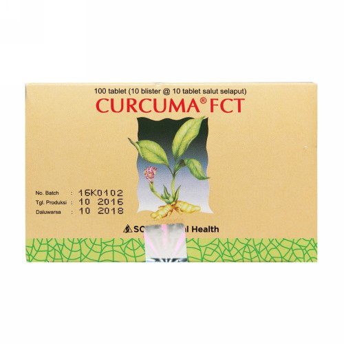 CURCUMA FCT STRIP 10 TABLET