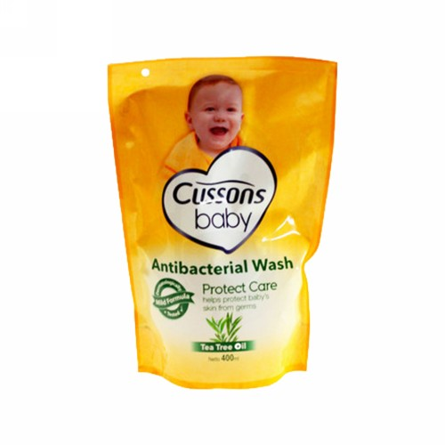 CUSSONS BABY ANTIBACTERIAL WASH PROTECT CARE TEA TREE OIL 400 ML