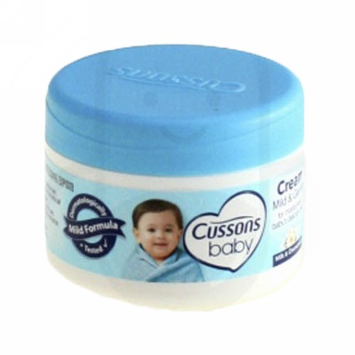 CUSSONS BABY MILD AND GENTLE CREAM 50 GRAM POT