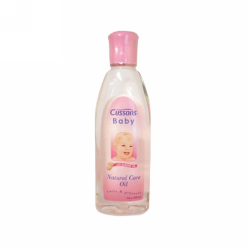 CUSSONS BABY OIL NATURALS 200 ML BOTOL