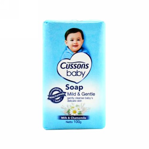 CUSSONS BABY SOAP BAR MILD AND GENTLE 100 GRAM