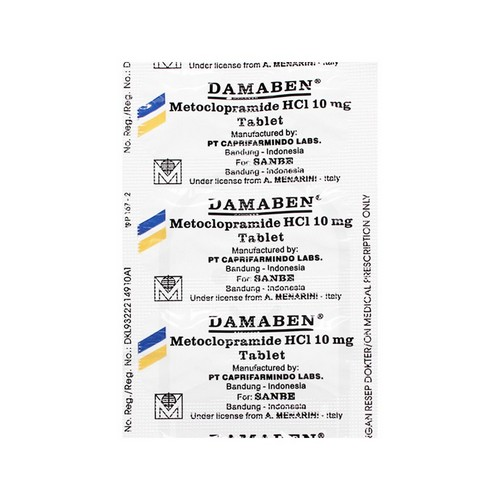 DAMABEN 10 MG TABLET BOX