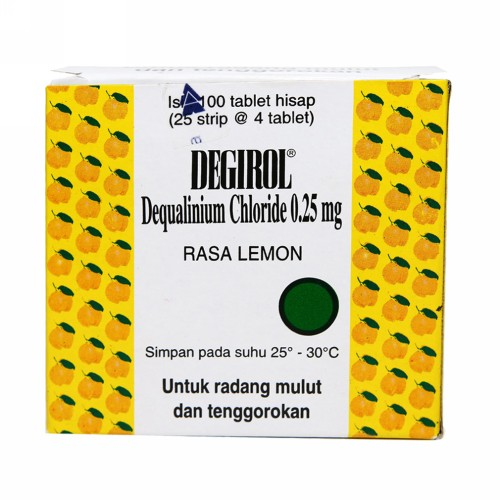 DEGIROL 25 MG BOX 20 TABLET