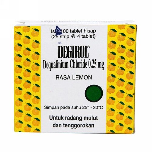 DEGIROL 25 MG BOX 25 STRIP