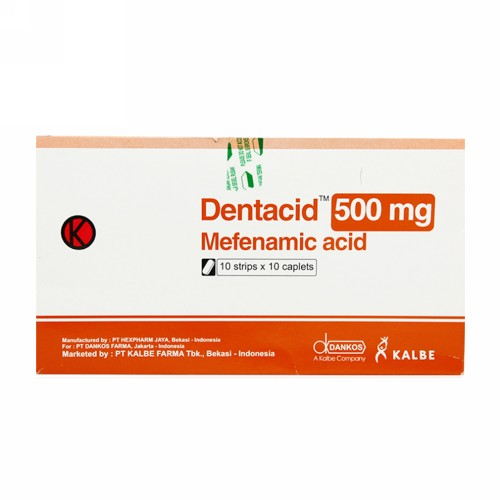 DENTACID 500 MG KAPLET BOX
