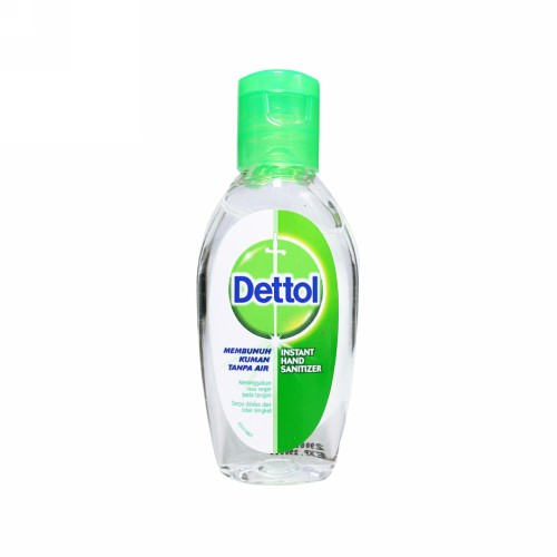 DETTOL INSTANT HAND SANITIZER ORIGINAL 50 ML BOTOL