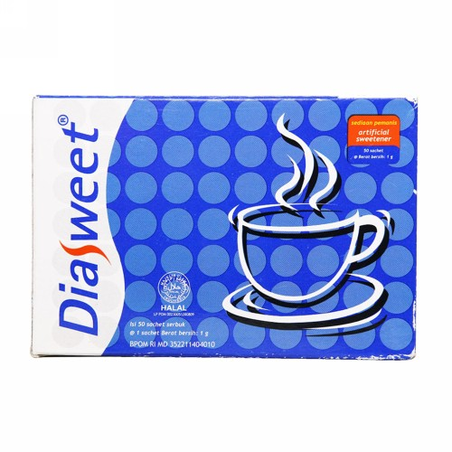 DIASWEET POWDER 50 SACHET BOX
