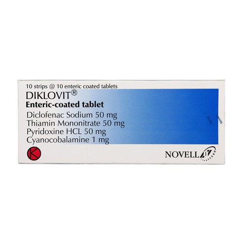 DIKLOVIT 50 MG TABLET