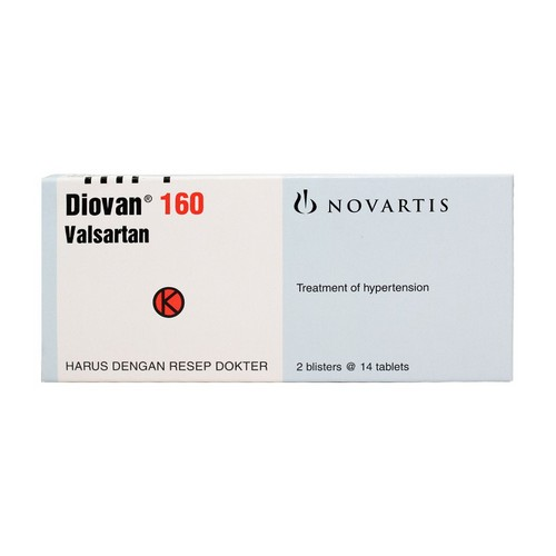 DIOVAN 160 MG TABLET STRIP