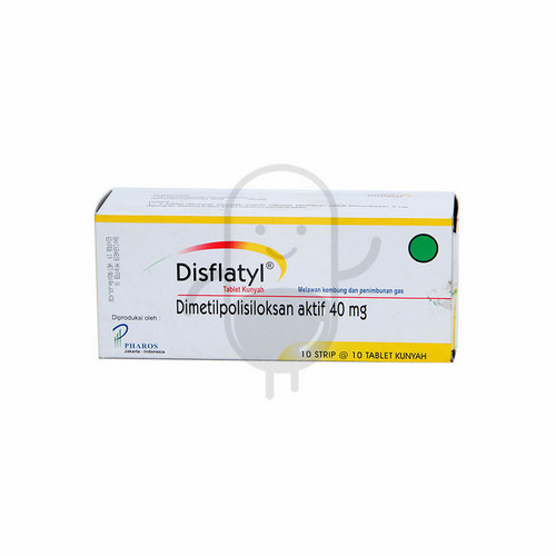 DISFLATYL 40 MG TABLET BOX