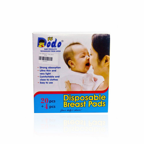 DODO DISPOSABLE BREAST PADS BOX 20 + 4 PCS