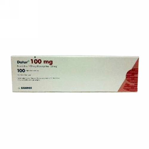DOTUR 100 MG TABLET STRIP