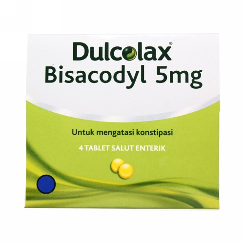 DULCOLAX 5 MG STRIP 4 TABLET