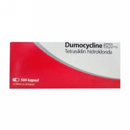 DUMOCYCLIN 250 MG KAPSUL BOX