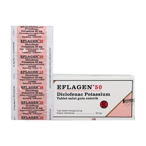 EFLAGEN 50 MG BOX 50 TABLET