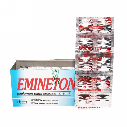 EMINETON STRIP10 TABLET