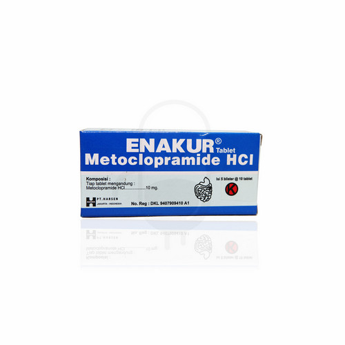 ENAKUR 10 MG BOX 50 TABLET