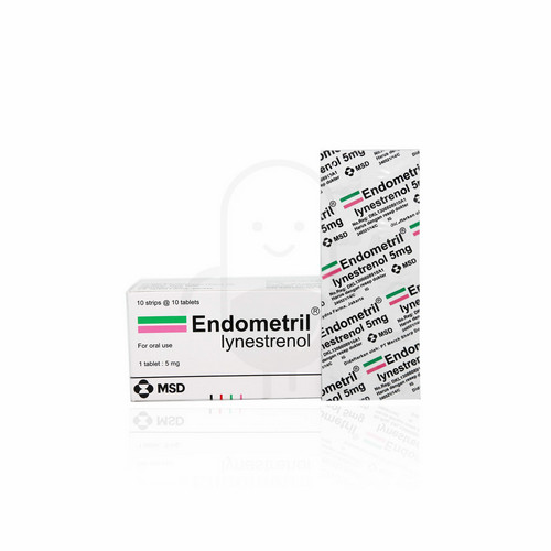 ENDOMETRIL 5 MG BOX 100 TABLET