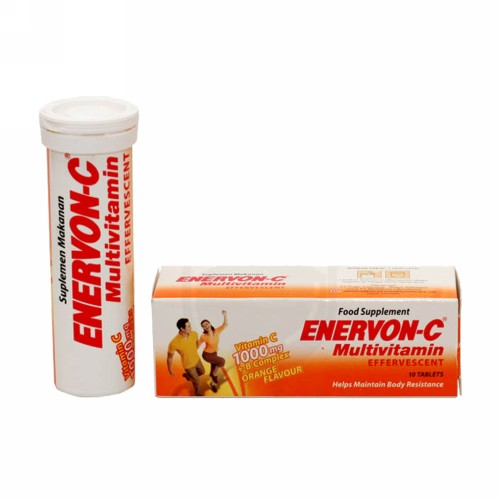 ENERVON C TUBE 10 TABLET EFFERVESCENT