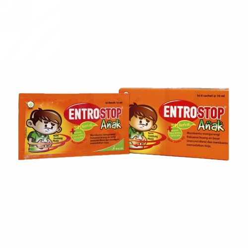 ENTROSTOP HERBAL ANAK CAIR 6 ML BOX 6 SACHET
