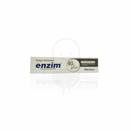 ENZIM 40 PLUS WITH COLOSTRUM PASTA GIGI 100 ML TUBE