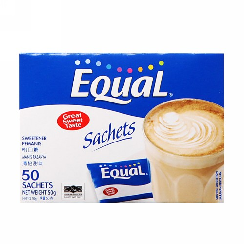 EQUAL SWEETENER BOX 100 SACHET